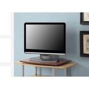 Convenience Concepts Inc. Designs2Go Single Tier Swivel TV Stand Cherry Finish (191020CH)