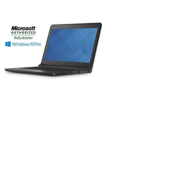 Dell - Portatif Latitude 13,3 po remis à neuf, Intel Core i3-5005U 2GHZ (5e gén.), 4Go RAM, DD 500Go, Windows 10 Pro, (3350)