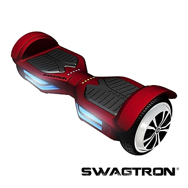 Swagtron™ T3 Hands-Free Smart Board with Bluetooth, Garnet Red, (89717-6)