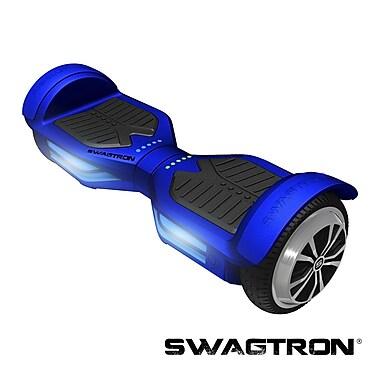 Swagtron™ - Planche de mobilité intelligente mains libres T3, avec Bluetooth, bleu, (89717-4)