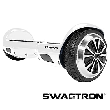 Swagtron™ T1 Hands-Free Smart Board, White, (88570-5)
