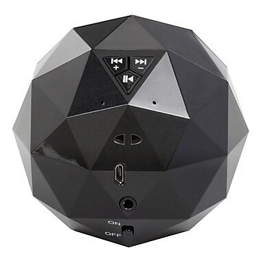 Digital Treasures – Haut-parleur Bluetooth Lyrix PowerBall, noir, (08945-PG)