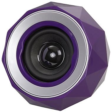 Digital Treasures Lyrix PowerBall Bluetooth Speaker, Purple, (08947-PG)