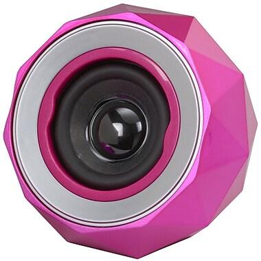Digital Treasures Lyrix PowerBall Bluetooth Speaker, Pink, (09005-PG)