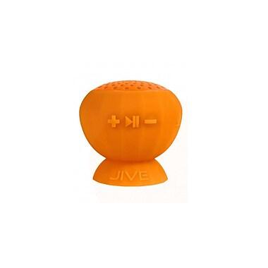 Digital Treasures Lyrix Jive Bluetooth Water Resistant Speaker, Orange, (09012-PG)
