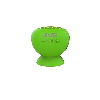 Digital Treasures Lyrix Jive Bluetooth Water Resistant Speaker, Lime, (09013-PG)