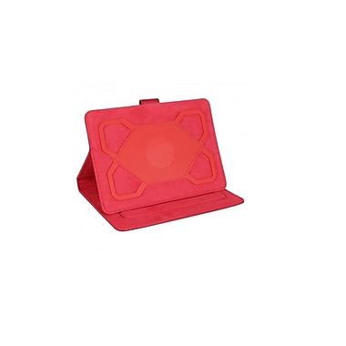 Digital Treasures – Étui pour tablette Props Universal, 7 po et 8 po, rouge, (09438-PG)