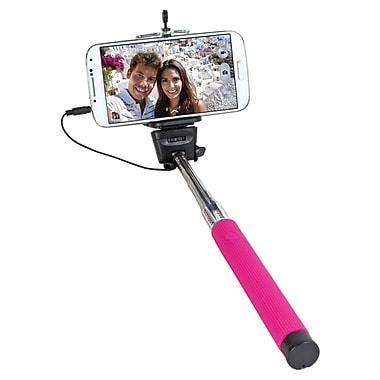 Digital Treasures Clickstick! Wired Selfie Stick, Pink, (70104-PG)