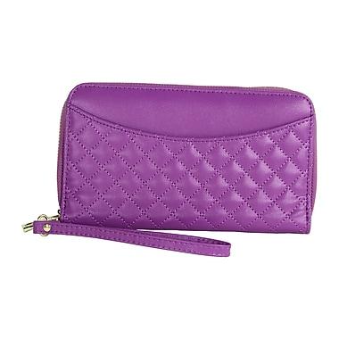 Digital Treasures Power Pochette Smartphone Wallet, Purple, (B20857-MC)