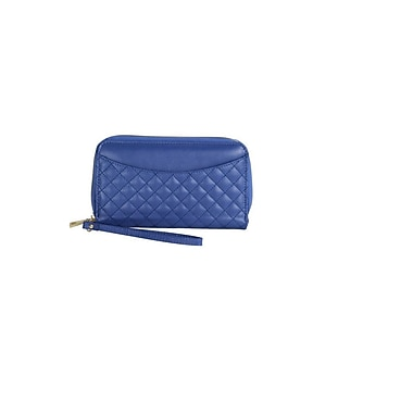 Digital Treasures Power Pochette Smartphone Wallet, Blue, (B20958-MC)