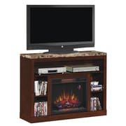 Windsor TV Stand for TVs up to 45 Inch, Antique Cherry  (74525)