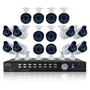 Night Owl 32 Channel Video Security System with 16 Hiresolution 900 TVL Cameras, Camera, Digital Video Recorder