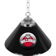 University of Georgia 14 Inch Single Shade Bar Lamp - Honeycomb (GA1200-HC)