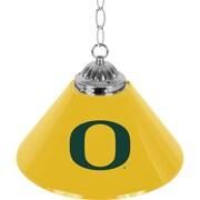 University of Oregon Single Shade Chrome Bar Lamp - 14 inch (ORG1200)