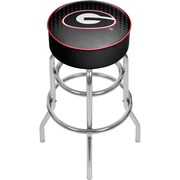 University of Georgia Padded Swivel Bar Stool - Reflection (GA1000-REF)