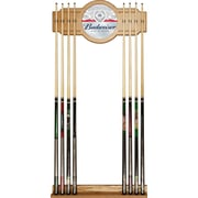 Budweiser Cue Rack with Mirror - Label Design (AB6000-LBL)