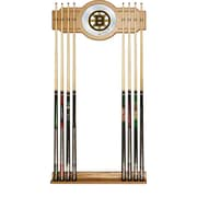 NHL Cue Rack with Mirror - Boston Bruins (NHL6000-BB2)