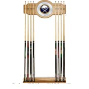 NHL Cue Rack with Mirror - Buffalo Sabres (NHL6000-BS2)