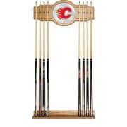 NHL Cue Rack with Mirror - Calgary Flames (NHL6000-CF2)