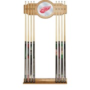 NHL Cue Rack with Mirror - Detroit Redwings (NHL6000-DR2)