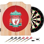 Premier League Liverpool Football Club Dart Cabinet Set with Board (EPL7000-LP)