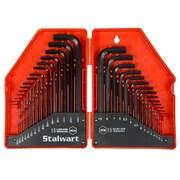 Stalwart 30 Piece Hex Key Wrench Set - Combo SAE & Metric (M550024)