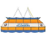 "NHL Handmade 40"" Tiffany Style Lamp New York Islanders® (NHL4000-NYI2)"