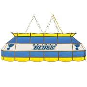 "NHL Handmade 40"" Tiffany Style Lamp St. Louis Blues® (NHL4000-SLB2)"