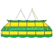 Premier League Norwich City Handmade Tiffany Style Lamp - 40 Inch (EPL4000-NC)