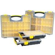 Stalwart Parts & Crafts Portable Storage Organizer 4 Box Set  (75-MJ4645102)