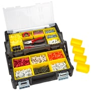 Stalwart Parts & Crafts Tiered Storage Tool Box - 18 Inch (75-MJ5051)