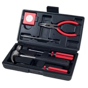 Stalwart 7 Piece BLACK Tool Kit - Household Car & Office (75-HT1007)