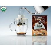 FUERTE®, Pronto®, Nocciola™, Coffee Drip Bag, Organic Arabica Coffee, Natural Hazelnut Flavor, 18/Pack, (PNH-101)