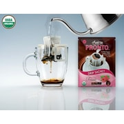 FUERTE®,Pronto®,Fruitti™, Organic Arabica Coffee, Single Serve Pour Over, Natural Chocolate Berries Flavor