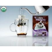 FUERTE®,Pronto®,Gusto™, Organic Arabica Coffee, Single Serve Pour Over, Italian Roast