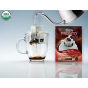 FUERTE®,Pronto®,Decafinatti™, Organic Arabica Coffee, Single Serve Pour Over, Natural Cinnamon Flavor, Decaf