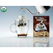 FUERTE®,Pronto®,Vaniglia™, Organic Arabica Coffee, Single Serve Pour Over, Vaniglia Flavor