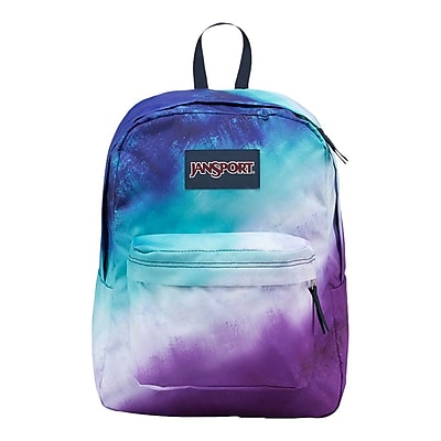 Jansport High Stakes Backpack, Multi Water Ombre (TRS70KB)
