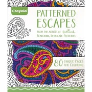"""Crayola® """"Patterned Escapes"""" Coloring Book"""