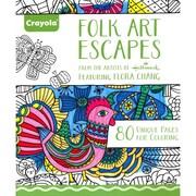 "Crayola® ""Folk Art Escapes"" Coloring Book"