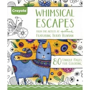 """Crayola® """"Whimsical Art Escapes"""" Coloring Book"""