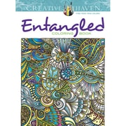 """Dover Publications """"Creative Haven® Entangled"""" Paperback Coloring Book"""