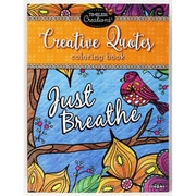 """Cra-Z-Art® Timeless Creations """"Creative Quotes"""" Coloring Book"""