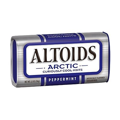 Wrigley Altoids Arctic Curiously Cool Mint 3 Mint Peppermint 8 Pack WRIG21774