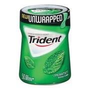 Trident Unwrapped Sugar Free Gum, 200 Serve, Spearmint (1254600614)