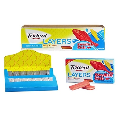 Trident Sugar Free Gum 168 Serve Swedish Fish 1254600782