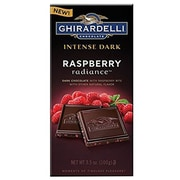 Ghirardelli Chocolate® Intense Dark Bar, 3.5 oz., Raspberry Radiance (GIDDR12)