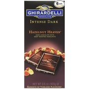 Ghirardelli Chocolate® Intense Dark Bar, 3.5 oz., Hazelnut Heaven (GIDHH12)
