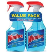 Windex® Glass Cleaner, Original, 26 oz., 2/Pack (70463)