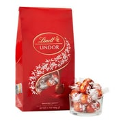 Lindt LINDOR Truffles, 1.3 oz., Milk Chocolate (LMMBAG10)